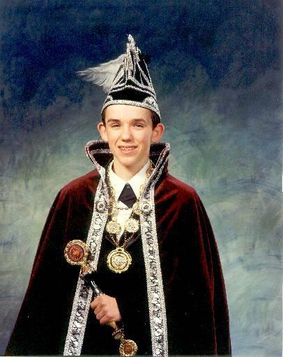 1995 Jeugdprins Bertje