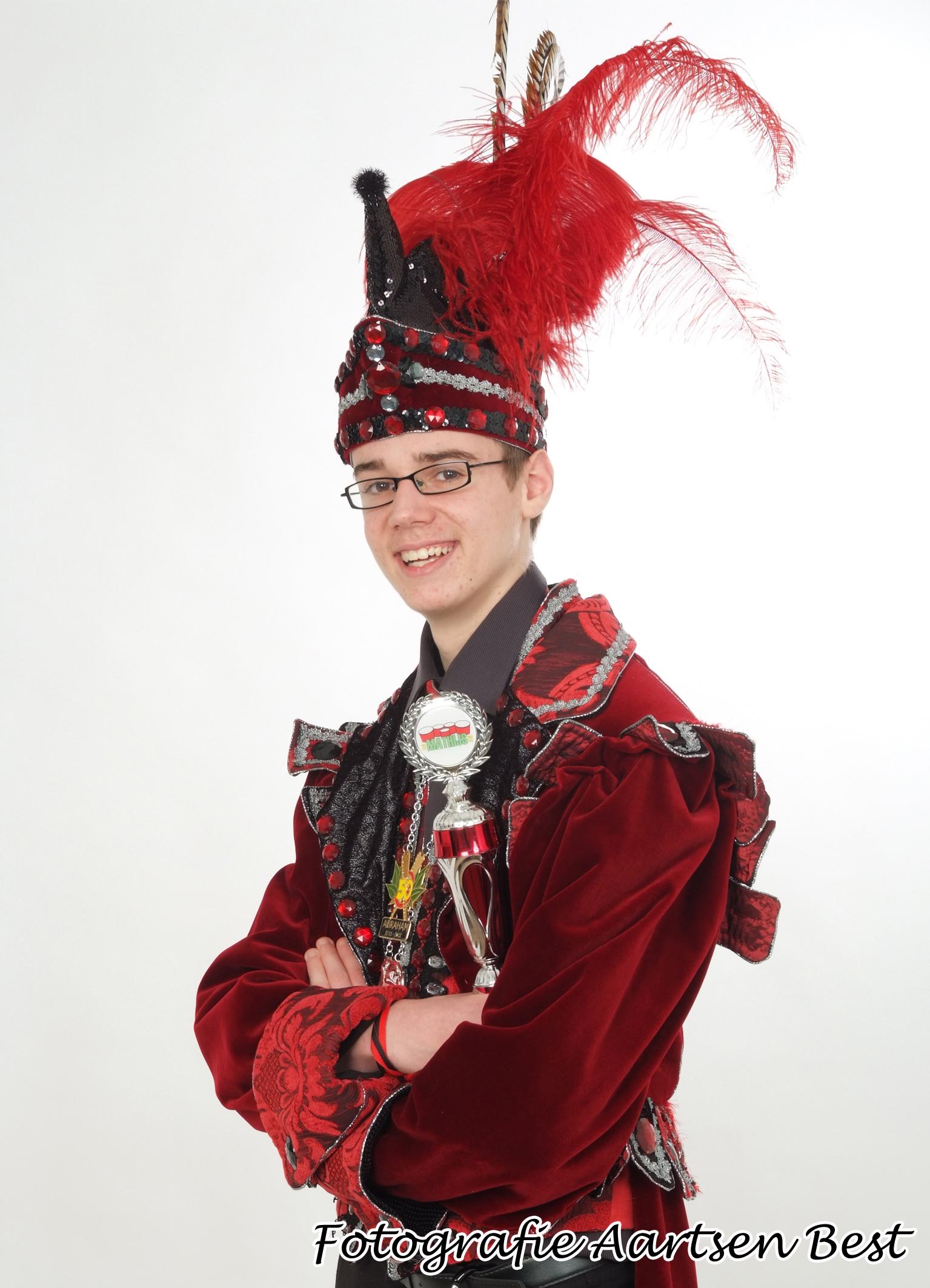 2012 Jeugdprins Mathijs
